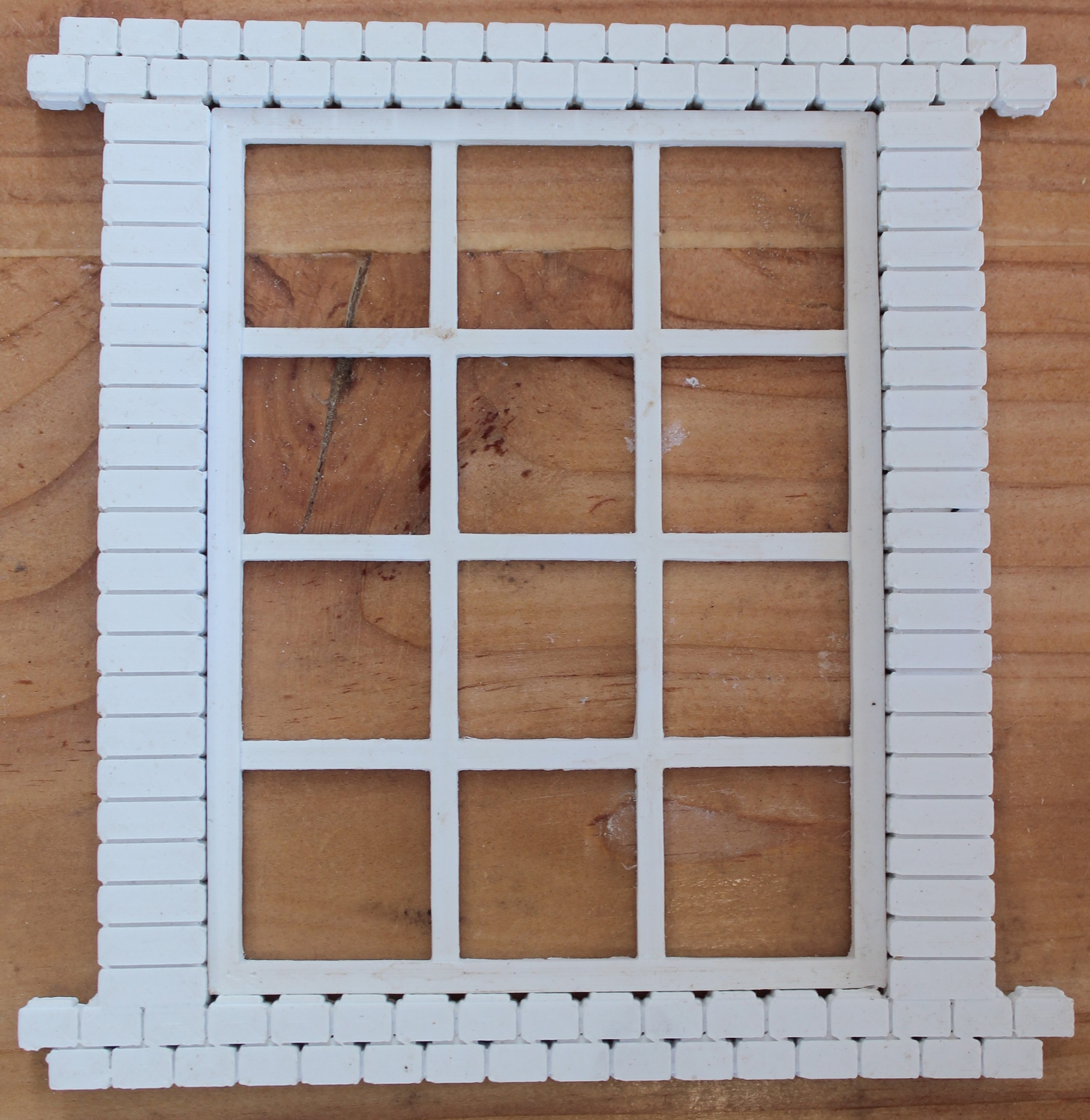 Small Factory Window